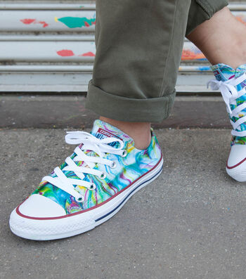 How To Make Marbled Canvas Shoes