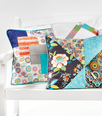How To Sew Quilted Pillows