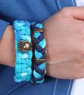 One Step Dye and Glue Bracelets