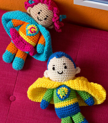 How To  Crochet Boy and Girl Super Heroes
