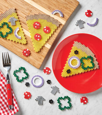 How To Make A Perler Bead Pizza