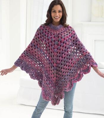 How To Crochet A Boho Poncho