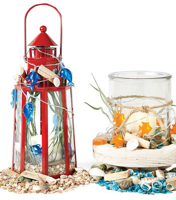 Make Decorative Sea Light Containers