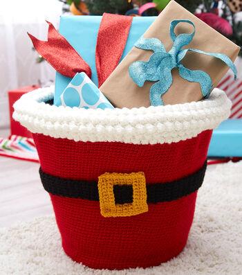 How To Crochet Santas Gift Basket