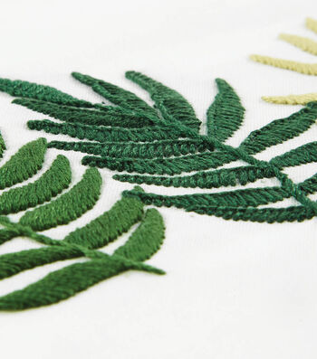 How To Make A Triple Fern Embroidery