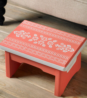 How To Make A Stencil Stool