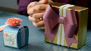 Cricut Explore Making Small Boxes