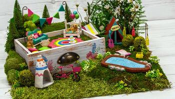 Boho Fairy Garden