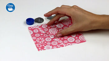 How To Make A Dritz  Cover Button