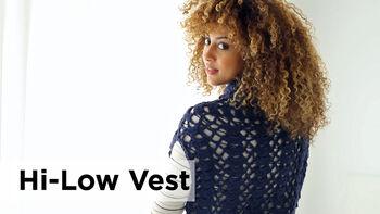 Lion Brand Hi-Low Vest