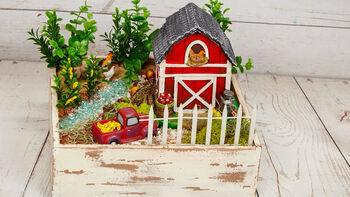 How To: Farm Fairy Garden