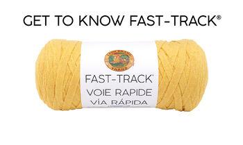 Lion Brand Fast Track Yarn Video