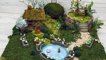 How to Make A Natural Fairy Garden