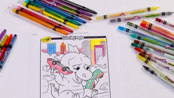 How to Use Crayola Twistable Crayons and Color Pencils