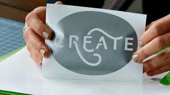 Cricut Explore Vinyl Sticker Project