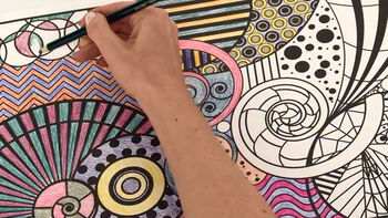 Color Your Way to Relaxation with Crayola Color Escapes