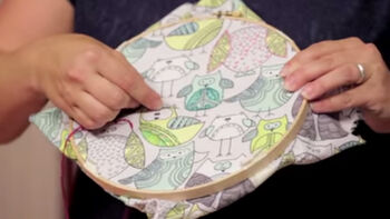 Easy sewing craft projects for kids with Rachael Gander from Imagine Gnats