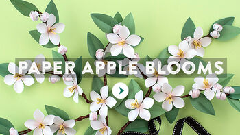 Paper Apple Blossom