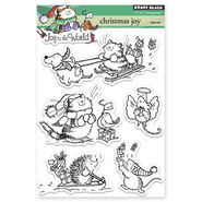 Penny Black Clear Stamps Christmas Joy