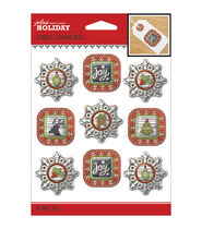 Jolees Christmas Stickers-Holiday Frames
