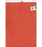 Plastic Canvas 7 Count 10inchesX13inches-Christmas Red