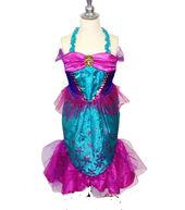 Disney Princess The Little Mermaid Sparkle Evening Dress