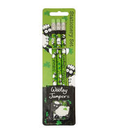 Dublin Gift Company Wooly Jumper 3pcs Pencils