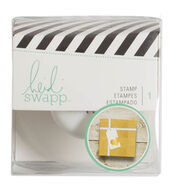 Heidi Swapp Gift Wrapping Stamp-Heart
