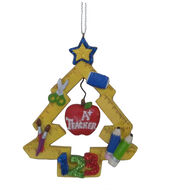 Makers Holiday Christmas Tree Ornament-Teacher