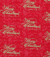 Christmas Cotton Fabric 43inches-Merry Christmas Pearl