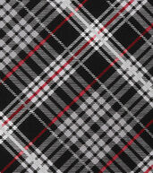 Christmas Cotton Fabric 43inches-Plaid