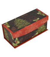 Makers Holiday Christmas Extra Small Pallet Flip Top Box