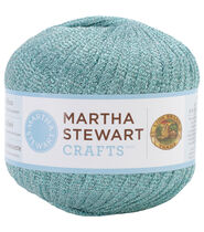 Lion Brand Martha Stewart Glitter Ribbon Yarn