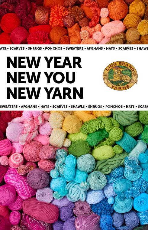 New Year. New You. New Yarn.