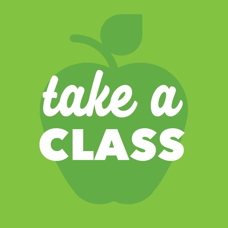 Take A Class.