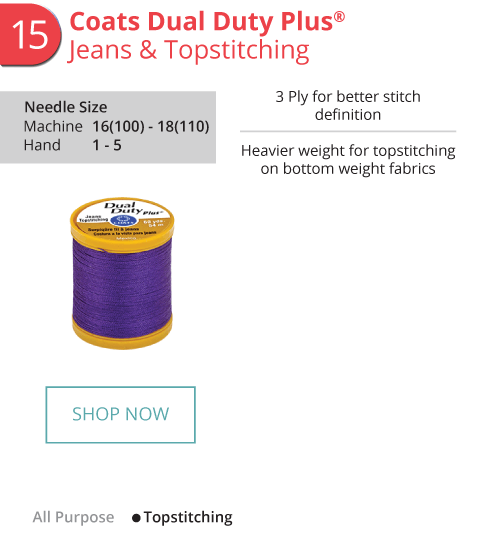 Jeans and Topstitching