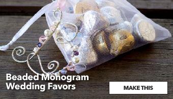 How to make Monogram Wedding Favors. Make This.