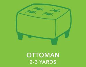 Ottoman. 2-3 Yards.