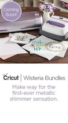 Coming Soon! Cricut Wisteria Bundles at JOANN