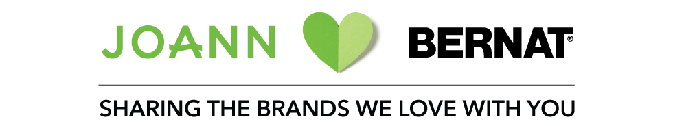 Joann. Bernat. Sharing the brands we love with you.