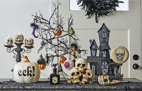 Spooky Decor Ideas.