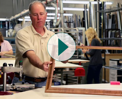 Watch How a Frame is Built