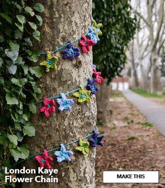 London Kaye Flower Chain. Make This.