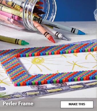 How to make a Perler Frame. Make This.