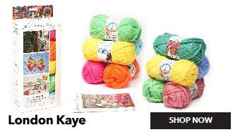 London Kaye Yarn. Shop Now.
