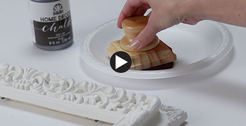 Chalk Paint Video.