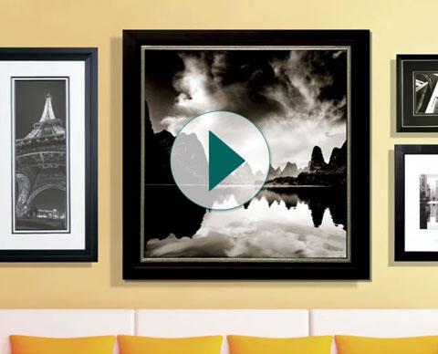 Custom framing create custom picture frames joann tips for group framing solutioingenieria Images