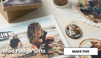 How to make Modge Podge Gifts.