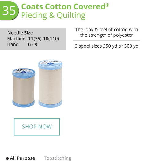 Cotton Covered - Piecing and Quilting