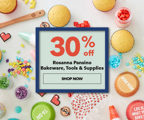 30% off Rosanna Pansino Bakeware, Tools, and Supplies. Shop Now.